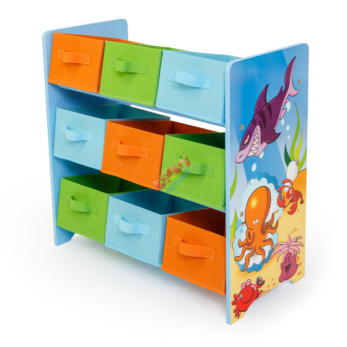 Organizer Na Zabawki Sea Komody Dla Dzieci Babymeblepl