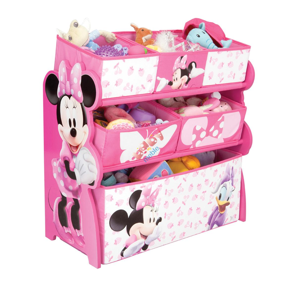 Organizer Na Zabawki Minnie Mouse Komody Dla Dzieci