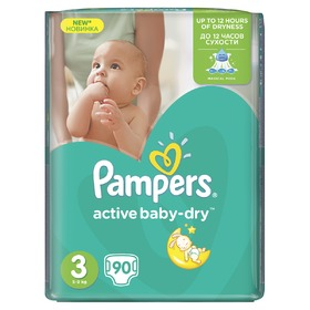 Pampers Giantpack Midi