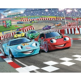 Tapeta 3D Auta, Walltastic, Cars
