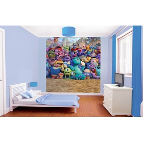 Fototapeta 8-częściowa - Monsters University, Walltastic, Monsters University