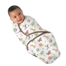 SwaddleMe - zawijak z nadrukiem, Summer Infant