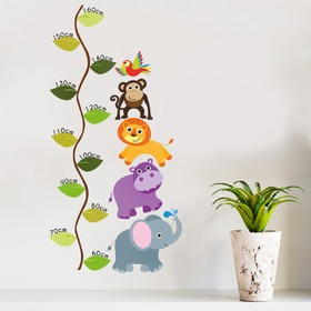 Miarka wzrostu - Jungle, Housedecor